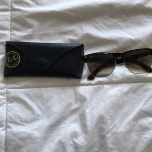 Authentic ray-ban clubmasters